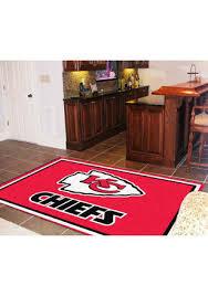 sports office decor. KC Chiefs 5x8 Interior Rug Sports Office Decor E