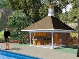 small pool shed. Captivating 12 20X20 House Plans Small Pool And Cabana Shed