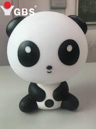 Eu Plug Nieuwe Leuke Panda Cartoon Bureaulamp Dier Led Night Lamp
