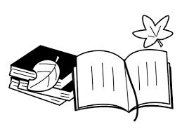 読書の秋の白黒イラスト かわいい無料の白黒イラスト モノぽっと