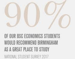 what does bsc stand for economics degree bsc university of birmingham