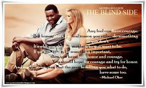 quote to remember the blind side  ~michael oher s essay was