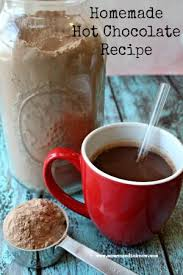 homemade hot chocolate recipe we keep the jar right next to the keurig and the