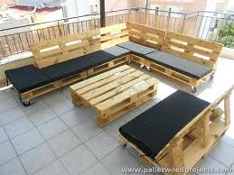 pallet patio sectional sofa plans couch furniture