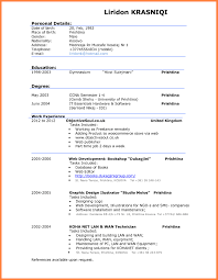 Resume Templates Word 2010 Free Best of Examples Of Good Cv For Students Very Resume Template Great
