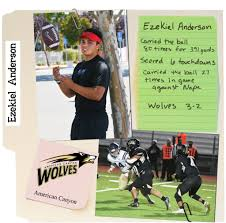 American Canyon High's two-sport star Ezekiel Anderson is athlete ...