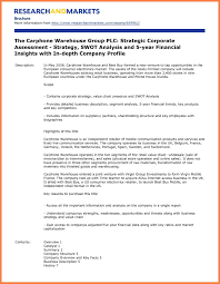 Sample Company Report 24 Sample Of A Company Profile Pdf Company Letterhead 8
