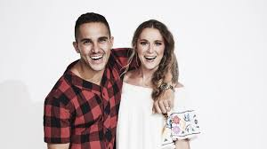 carlos and alexa penavega on hallmark s love at sea a dwts return big time rush reunion chances