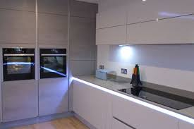 full size of splendid handleless cabinets gloss cupboards cabinet grey images cupboard true cons ideas pros