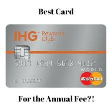 The new cards will cost $29 and $89, and. Why The Chase Ihg Rewards Club Credit Card Is The Best Card For The Annual Fee Baldthoughts