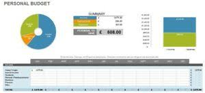 Details About Excel Template Personal Budget Planner Easy To Use