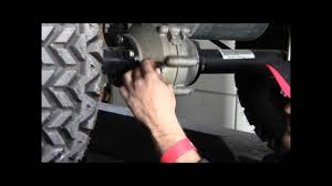 how to check the rear axle fluid in your golf cart