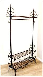 Sturdy Coat Rack Storage Hangers Clothes Made In Wrought Iron Coat Hanger Rack 36
