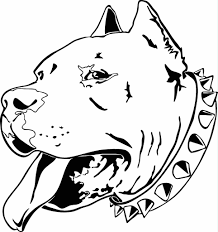 Small Picture Pencil Coloring Of Pit Bulls Coloring Coloring Pages