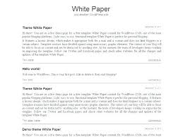 Free White Paper Template Army White Paper Template