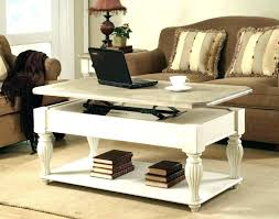 round lift top coffee table antique white steve silver nelson with casters building plans