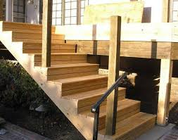 Heute wird die treppe gebaut. Holz Aussentreppe Selber Bauen Mit Oder Ohne Gelander Holztreppe Bauen Aussentreppe Gartentreppe