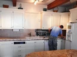 white painted oak kitchen cabinets. Oak Kitchen Cabinet Painted White Painting Cabinets Antique I