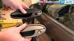 exterior car door handles. How To Install Repair Replace Broken Exterior Door Handle Olds Intrigue 98-02 1AAuto.com - YouTube Car Handles R