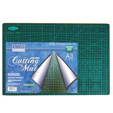 a3 large heavy duty craft cutting mat with measurements and angles by icon