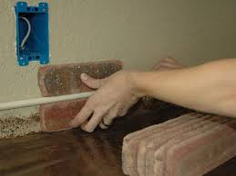 how to install a brick backsplash in a
