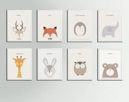 jungle animals nursery art print deer fox porcupine elephant giraffe design ideas of giraffe nursery wall on elephant and giraffe nursery wall art with jungle animals nursery art print deer fox porcupine elephant giraffe