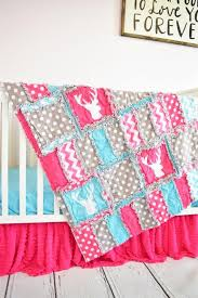 deer crib bedding baby girl crib set