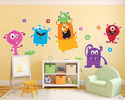 awesome monsters inc wall decor s the wall art decorations design of monster wall decals of monster wall decals stunning monsters inc wall decor