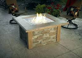 gas fire pit tabletop table diy outdoor ideas portable propane flower pot round kit