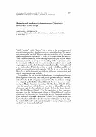 genetic essay essay human genetic enhancement oxbridge notes the  genetic essayhusserl s static and genetic phenomenology translator s