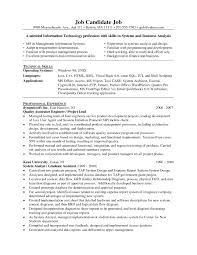 Awesome Collection Of System Administrator Resume Senior System