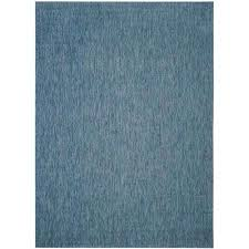 courtyard navy 9 ft x 12 ft indoor outdoor area rug