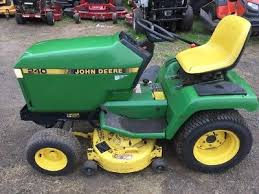john deere 240 lawn and garden tractor 14hp kawasaki 38 cut mower