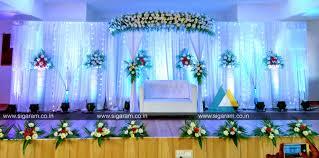 Reception decoration at Sri Sairam Mahal Thenpakkam (1)