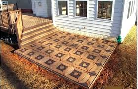 diy kitchen flooring stone tile patio ideas medium size diy outdoor flooring easy patio ideas medium size brick pallet