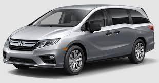 2018 Honda Odyssey Color Options