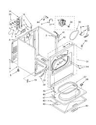 Kenmore electric dryer wiring diagram blueprint images 45289