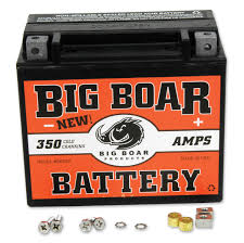 motorcycle batteries motorcycle electrical parts j p cycles big boar battery