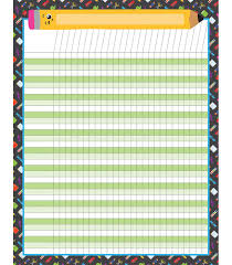 Incentive Charts For Students School Tools Incentive Chart