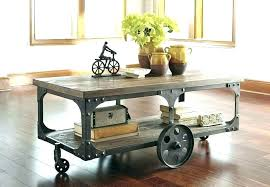 mill cart coffee table vintage industrial cart coffee table s old industrial cart coffee table industrial