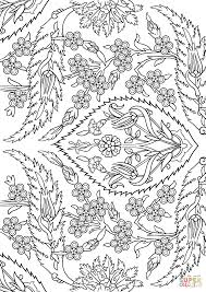 Islamic Art Coloring Pages Alhambra Tessellations Page Free