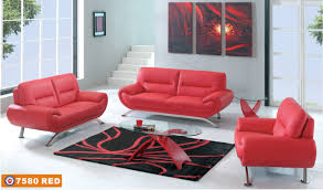 Of Sofa Sets In A Living Room Living Room Red Leather Sofa Set Oval Glass Transparent Coffee