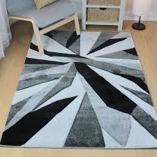 funky carved rug black grey jpg