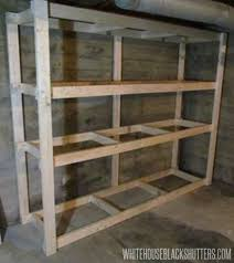 build this basement storage in one night for only 60
