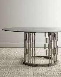 unique round dining table from horchow