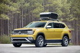 2018 volkswagen caddy. beautiful volkswagen the allnew 2018 volkswagen atlas weekend edition concept is ready for your  weekend camping in volkswagen caddy r