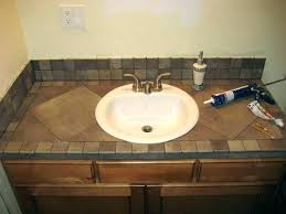 remove bathroom countertop
