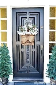 hanging a wreath on front door frt frt hanging wreath on glass front door hanging a wreath on front door