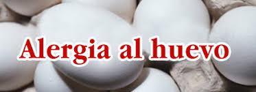 Resultado de imagen de alergia al huevo