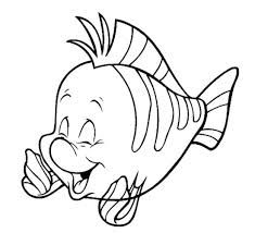 Small Picture Disney characters coloring pages flounder ColoringStar